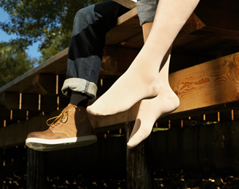 b092d83eec SIGVARIS Cotton Calf compression stockings